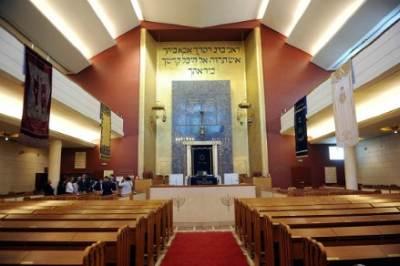 La sinagoga di Milano, foto Infophoto