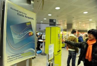 La nuova social card (Foto InfoPhoto)