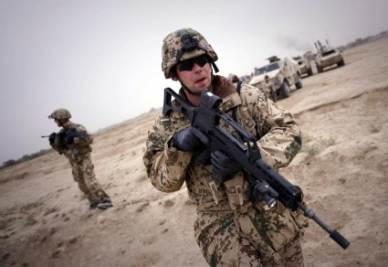 Militari Usa in Afghanistan (InfoPhoto)