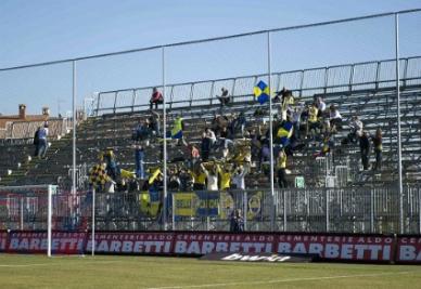 Lo stadio di Gubbio, sede delle fasi finali (Infophoto)