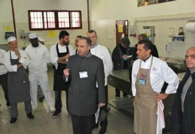 La cucina del carcere di Padova