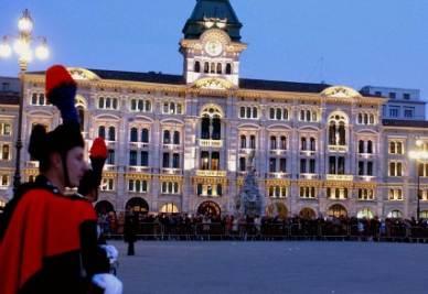 Trieste, Giornata nazionale del ricordo in memoria delle vittime delle foibe, 2005 (InfoPhoto)
