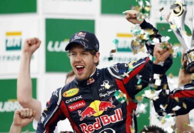 Sebastian Vettel, prima pole position stagionale (Infophoto)