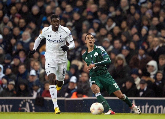 Emmanuel Adebayor, stella del Togo (Infophoto)