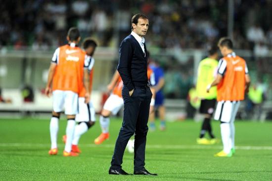 L'allenatore della Juventus
