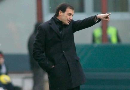 Massimiliano Allegri, allenatore della Juventus (Foto Infophoto)
