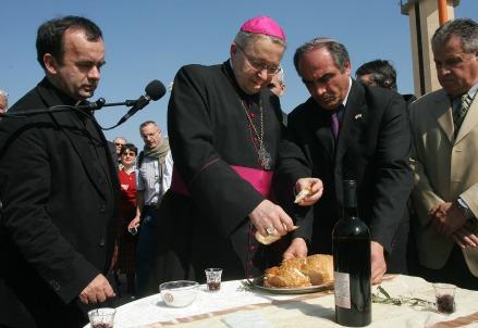 L'arcivescovo di Parigi, cardinale André Vingt-Trois