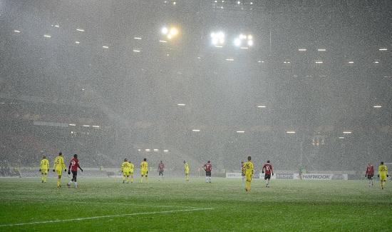 Una partita dell'Anzhi in Europa League (Infophoto)
