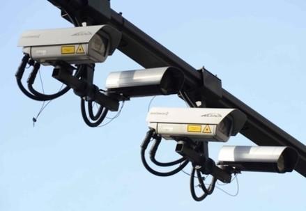 Le telecamere dell'Area C(Infophoto)