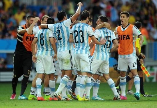 L'Argentina torna in semifinale mondiale dopo 24 anni (Infophoto)