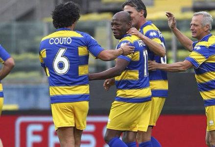 Faustino Asprilla, 45 anni, ha giocato 4 stagioni nel Parma