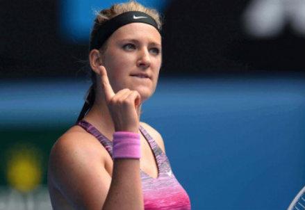 Victoria Azarenka, 24 anni, due titoli Slam (Infophoto)