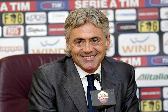 Franco Baldini, dg della Roma (Foto Infophoto)
