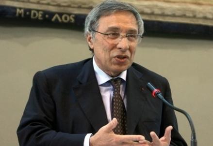 Franco Bassanini, Presidente della Cassa depositi e prestiti (Infophoto)