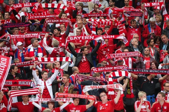Tifosi del Bayern (Infophoto)