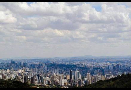 Una veduta di Belo Horizonte, nello stato di Minas Gerais