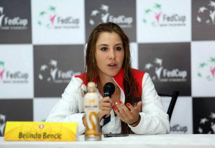 Belinda Bencic, 17 anni, è stata numero 1 juniores