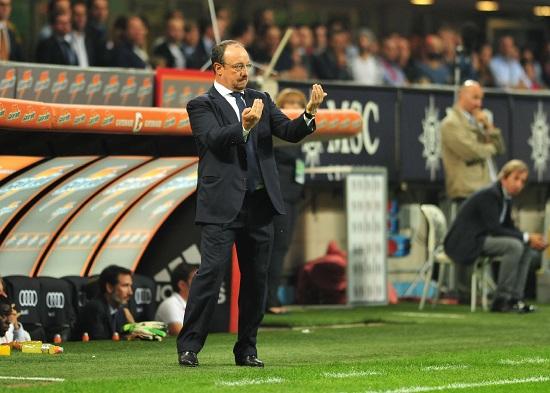 Rafa Benitez: il suo Napoli sfida la Sampdoria (Infophoto)