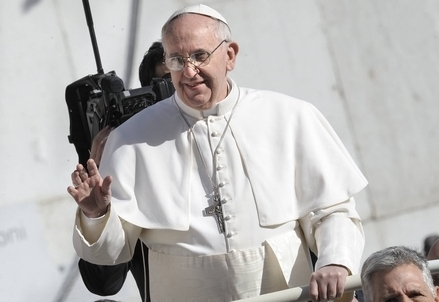 Papa Francesco (Foto InfoPhoto)