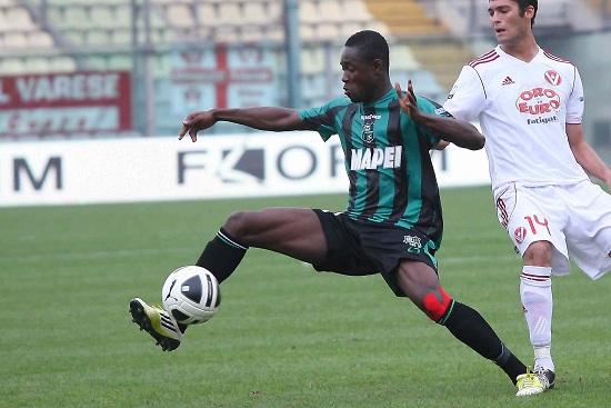 Richmond Boakye, 19 anni, attaccante del Sassuolo: è in comproprietà tra Genoa e Juventus (Infophoto)