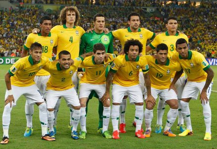 Il Brasile è vicino agli ottavi di finale (Infophoto)