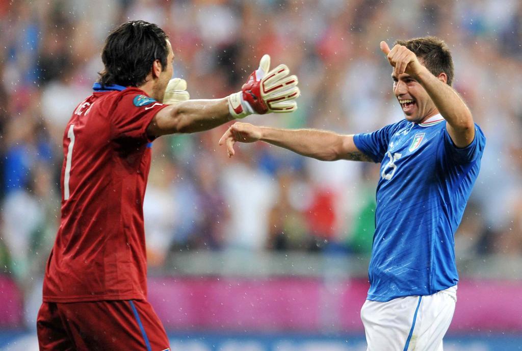 Gianluigi Buffon, capitano Italia (Infophoto)