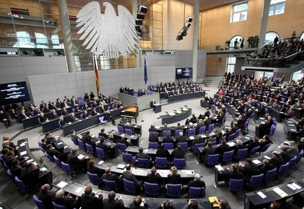 Il Bundestag (Infophoto)
