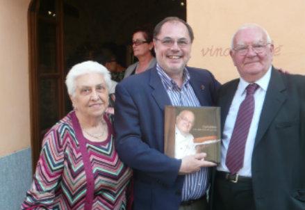 Giuseppe Canobbio con la moglie Ester