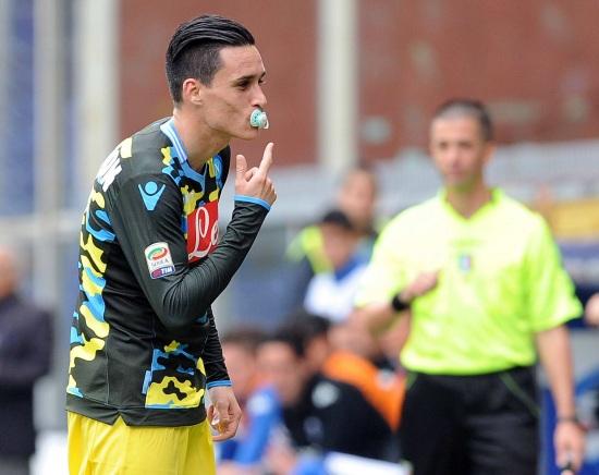 José Maria Callejon, 6 gol in questo campionato (Infophoto)