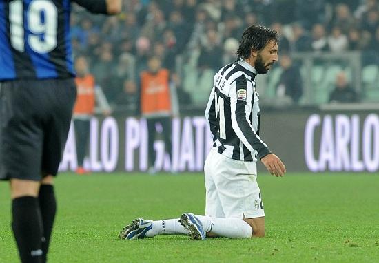 Andrea Pirlo, 36 anni (Infophoto)