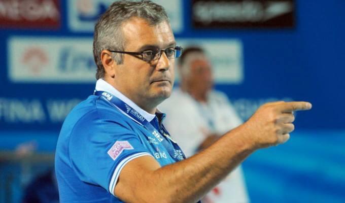 Sandro Campagna, 51 anni, Commissario Tecnico della nazionale di pallanuoto maschile