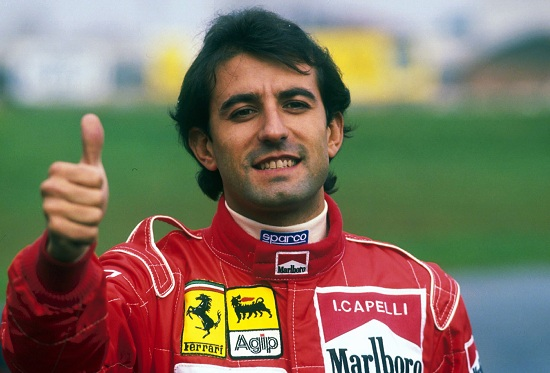 Ivan Capelli, 51 anni, campione europeo di Formula 3 e Formula 3000 (Infophoto)