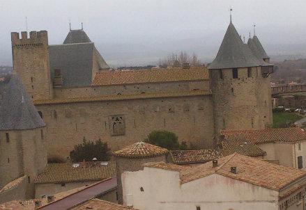 Una veduta di Carcassonne: parte da qui la sedicesima tappa del Tour de France 2014