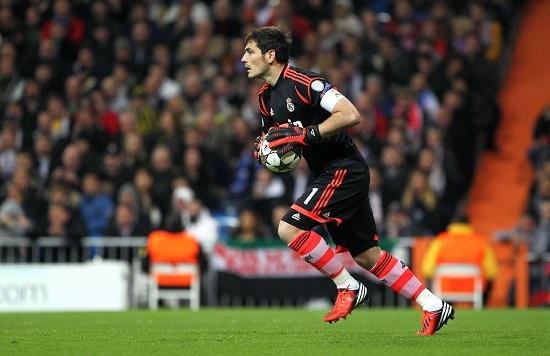 Iker Casillas, 32 anni, portiere del Real Madrid (Infophoto)