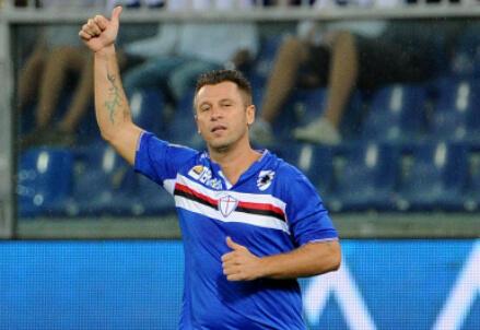 Antonio Cassano, 33 anni (Infophoto)