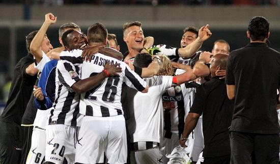 L'Udinese prova l'impresa (Infophoto)