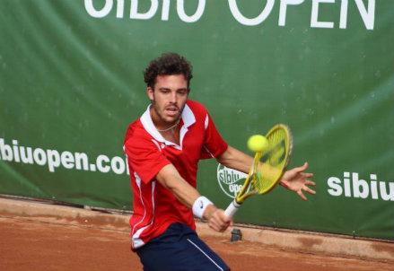 Marco Cecchinato, 21 anni, di Palermo: numero 140 del ranking ATP