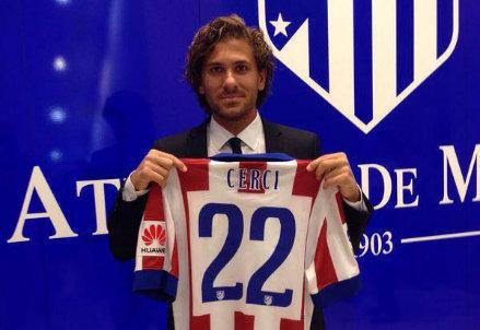 Alessio Cerci, 27 anni, con la sua nuova maglia