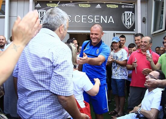 Il Cesena presenta la nuova squadra (Infophoto)
