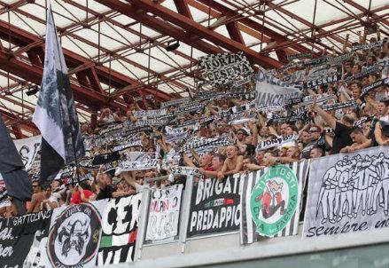 I tifosi del Cesena (Infophoto)