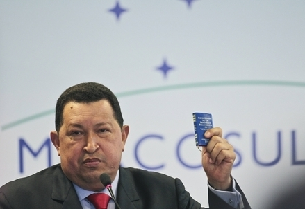 Hugo Chavez (Infophoto)