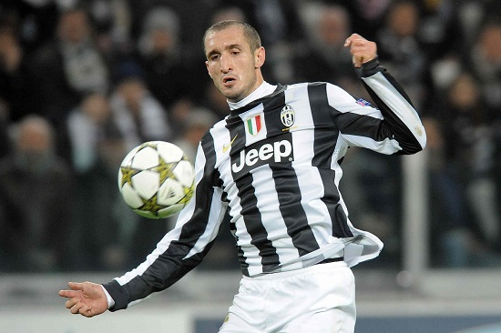Giorgio Chiellini, difensore Juventus (Infophoto)