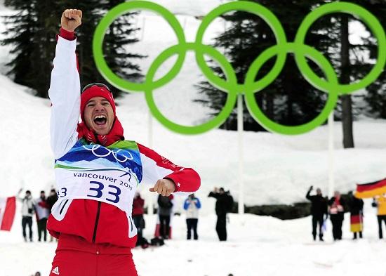 Dario Cologna, 26 anni, sciatore svizzero (Infophoto)