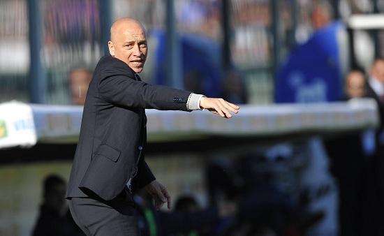 Eugenio Corini, allenatore del Chievo (Infophoto)