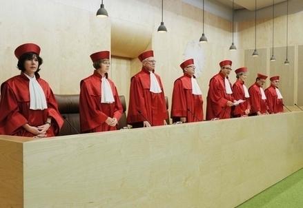 La Corte Costituzionale tedesca (Infophoto)
