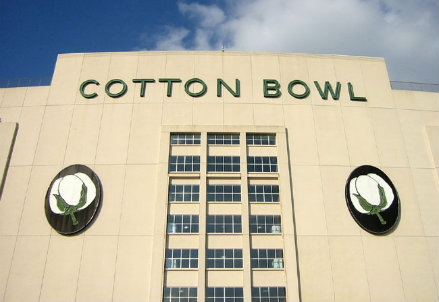 Il Cotton Bowl di Dallas: qui si giocherà Real Madrid-Roma