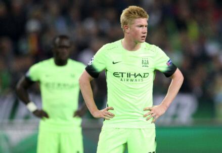 Kevin De Bruyne, 24 anni, attaccante belga del Manchester City (INFOPHOTO)