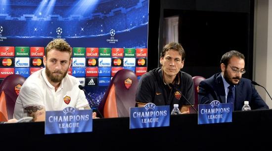 Roma-Barcellona, Champions League (Infophoto)