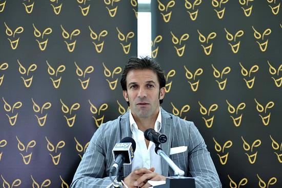 Alessandro Del Piero, 38 anni (Infophoto)
