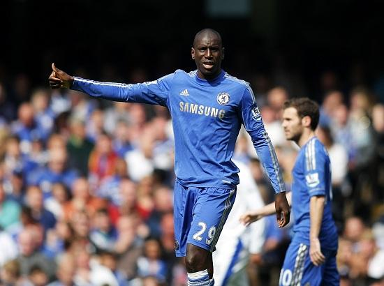 Demba Ba, centravanti del Chelsea  (Infophoto)